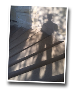 chambord, shadow, stairway, me