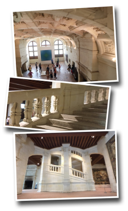 chambord, France, architecture, Leonardo daVinci, double helix