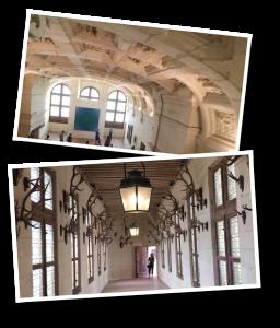 chambord, chambord castle, chateau, salle voûtée, trophy gallery