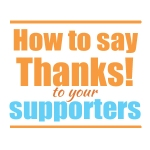 How to Publicly Thank your STM Partners?