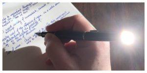 journaling, devotions, diary, bible study, waterman, hemisphere