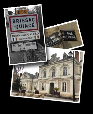 Mairie, Brissac, Brissac-Quincé, Maine-et-Loire, Departement 49, Caluso, Italie, Hôtel de Ville, Brissac Loire Aubance