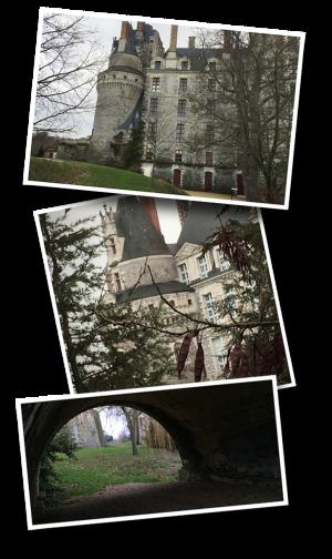 Brissac-Quincé, Brissac Loire Aubance, Maine-et-Loire, Departement 49, château