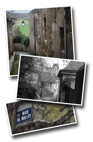 Brissac-Quincé, Brissac Loire Aubance, Maine-et-Loire, Departement 49, Rue Rollée, ruelle