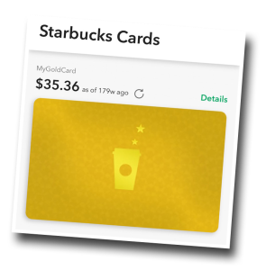 Starbucks, loyalty program