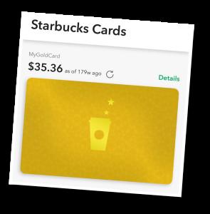 Starbucks, loyalty program