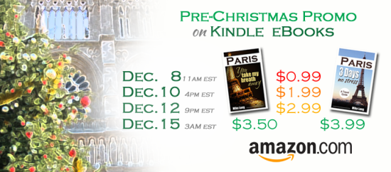 Paris Christmas Book Promo