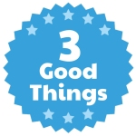 #3GoodThings – #1