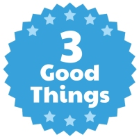 3 good things, Three Good Things, The Happiness Advantage, Shawn Achor