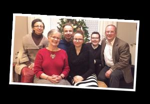family christmas tree, mom, 2018