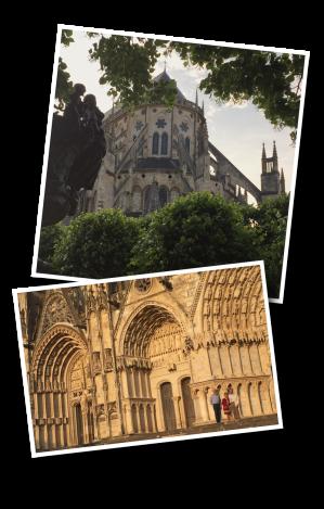 Cathédrale St. Étienne, Bourges