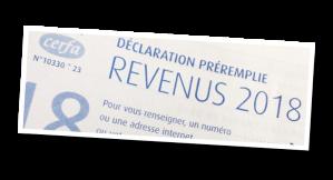 impôts 2018